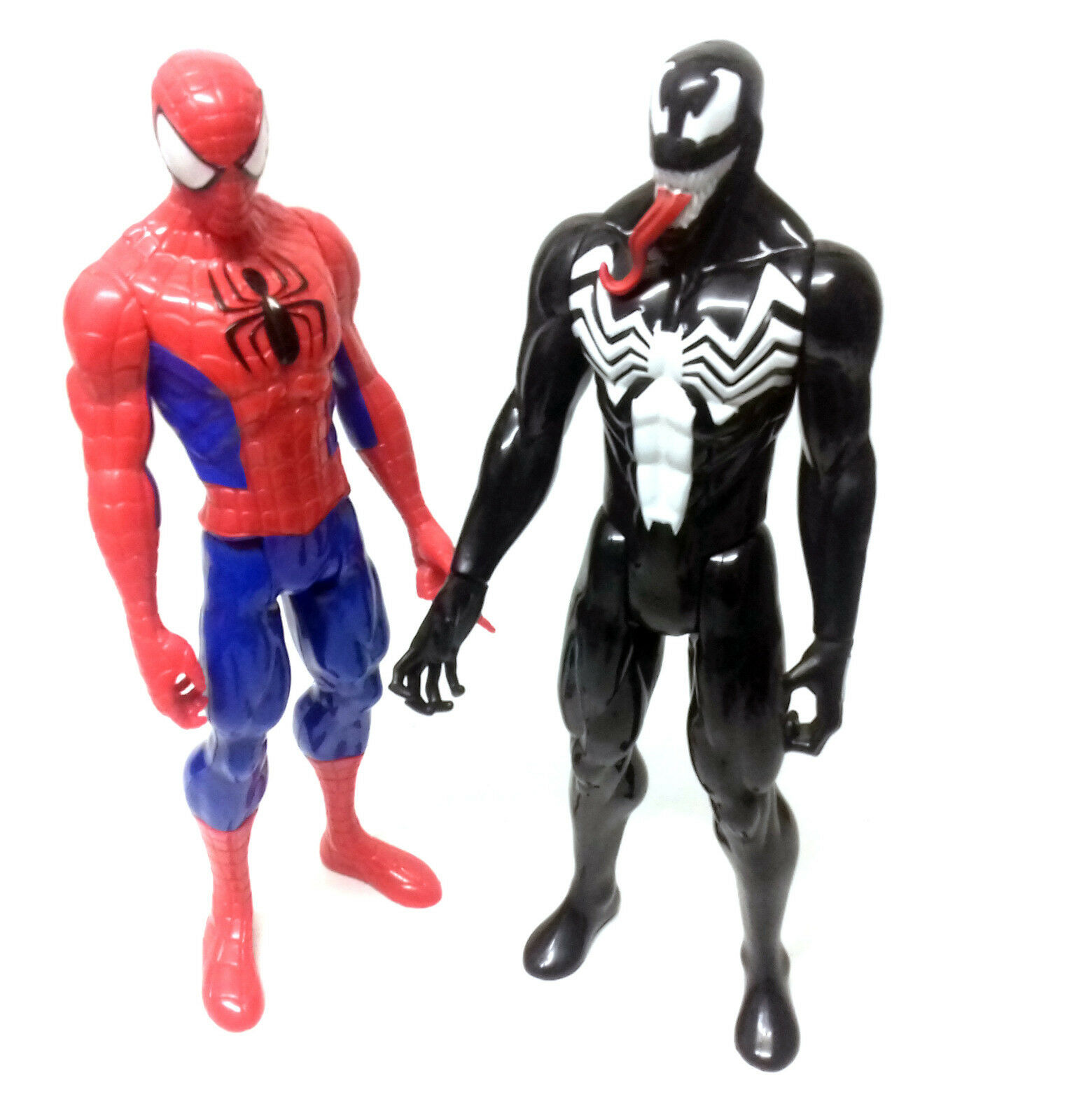Marvel Comics SPIDERMAN SPIDERMAN SPIDERMAN v VENOM 10  titan toy figure hero & villain set bd539d