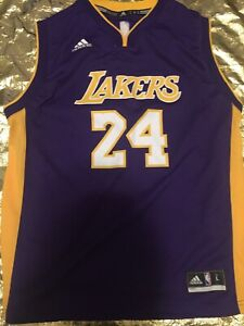 Details about Vintage Legendary Kobe Bryant Youth Lakers Adidas Jersey Size L Girls Grande