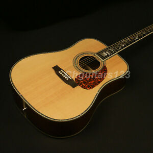 41in-High-Quality-Handmade-Electric-Acoustic-Guitar-Solid-Spruce-Top-Fishman-101