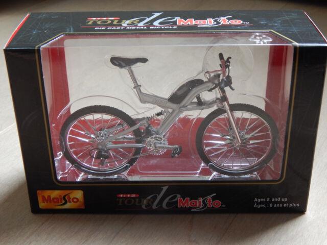 New Tour de Maisto 1:12 Die Cast Metal BMW Q6.S Bike Bicycle Miniature Unopened