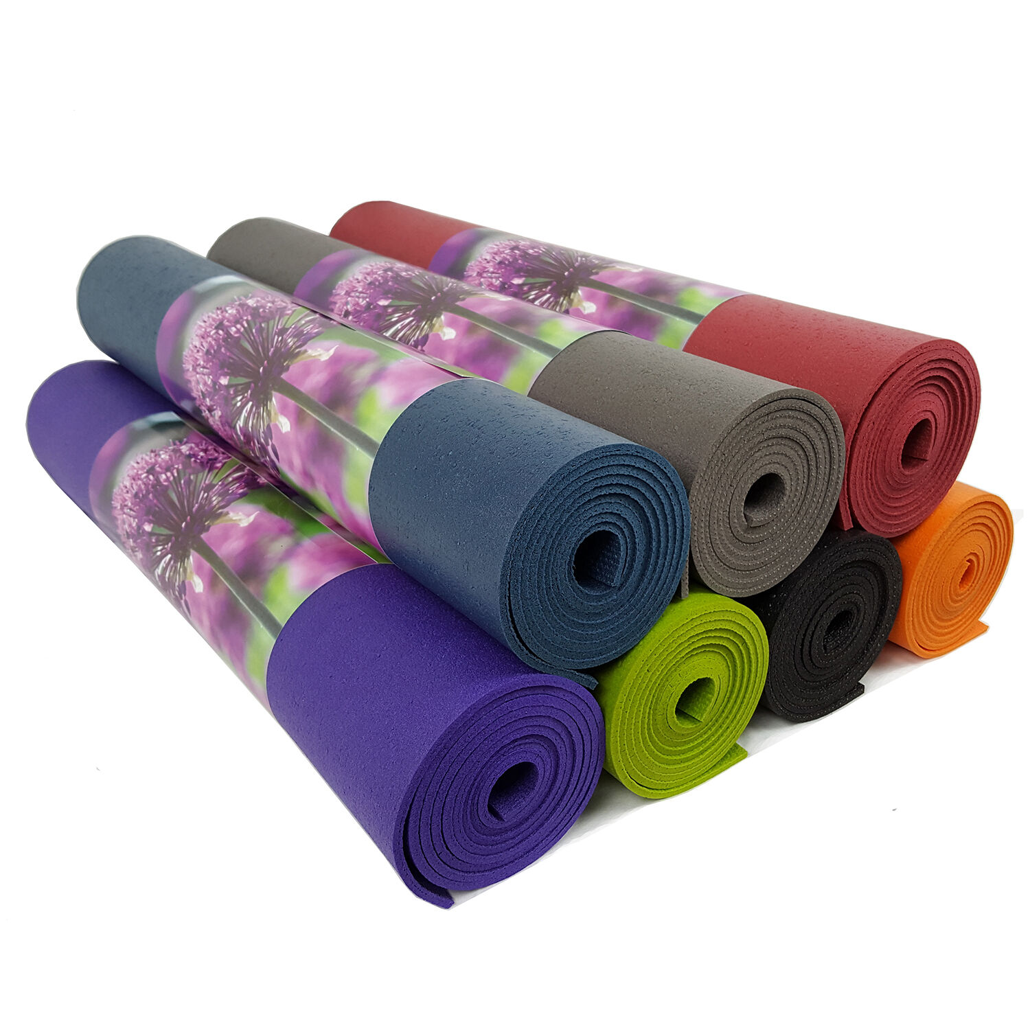 200cm Extra Long Ruth White Premier Yoga Mat - 60cm Wide - 7 Colours