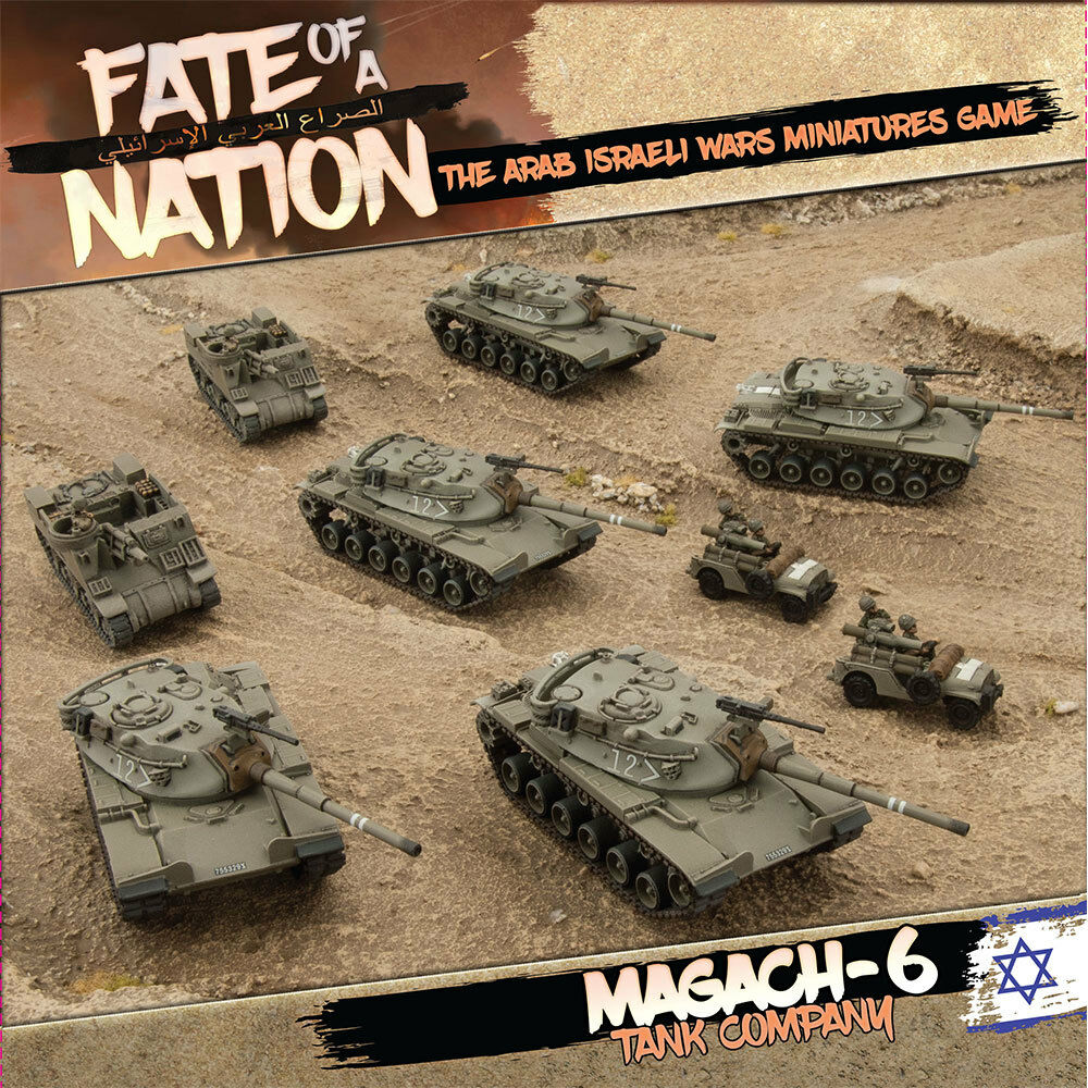 AISAB1 MAGACH-6 TANK COMPANY - FATE OF A NATION - FLAMES OF WAR
