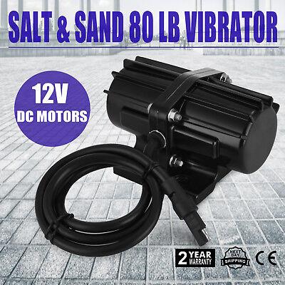 80lb Salt /& Sand Spreader Vibrator Kit Motor 80 lb