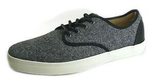 Pumps Up Vans Authentic Tweed Canvas Zapatos Lace Mens Gris Casial Z6fRaq6U