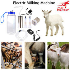 2l Dual Head Electric Sheep Goat Milking Machine Vacuum Pump Stainless Milker