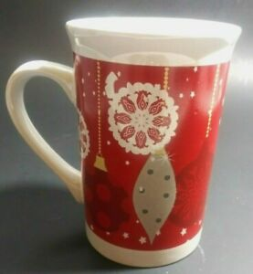 Coffee Christmas Ornaments.Details About Royal Norfolk Holiday Christmas Ornaments Collectible Coffee Cup Mug