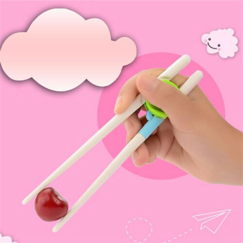 Chinese Chopsticks Kids Baby Learning Training Chopsticks For Right Hand Tools D