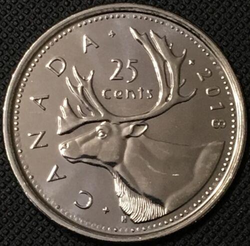 5c UNC 2018 Canada Classic 25c,10c Quarter // Dime // Nickel Coin