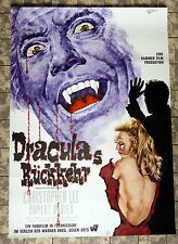 DRACULAS RÜCKKEHR / Dracula has Risen from his Grave * A1-FILMPOSTER -HAMMER LEE