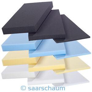 Schaumstoff-Polster-Schaumstoffplatte-Schaum-Matratze-Auflage-Topper