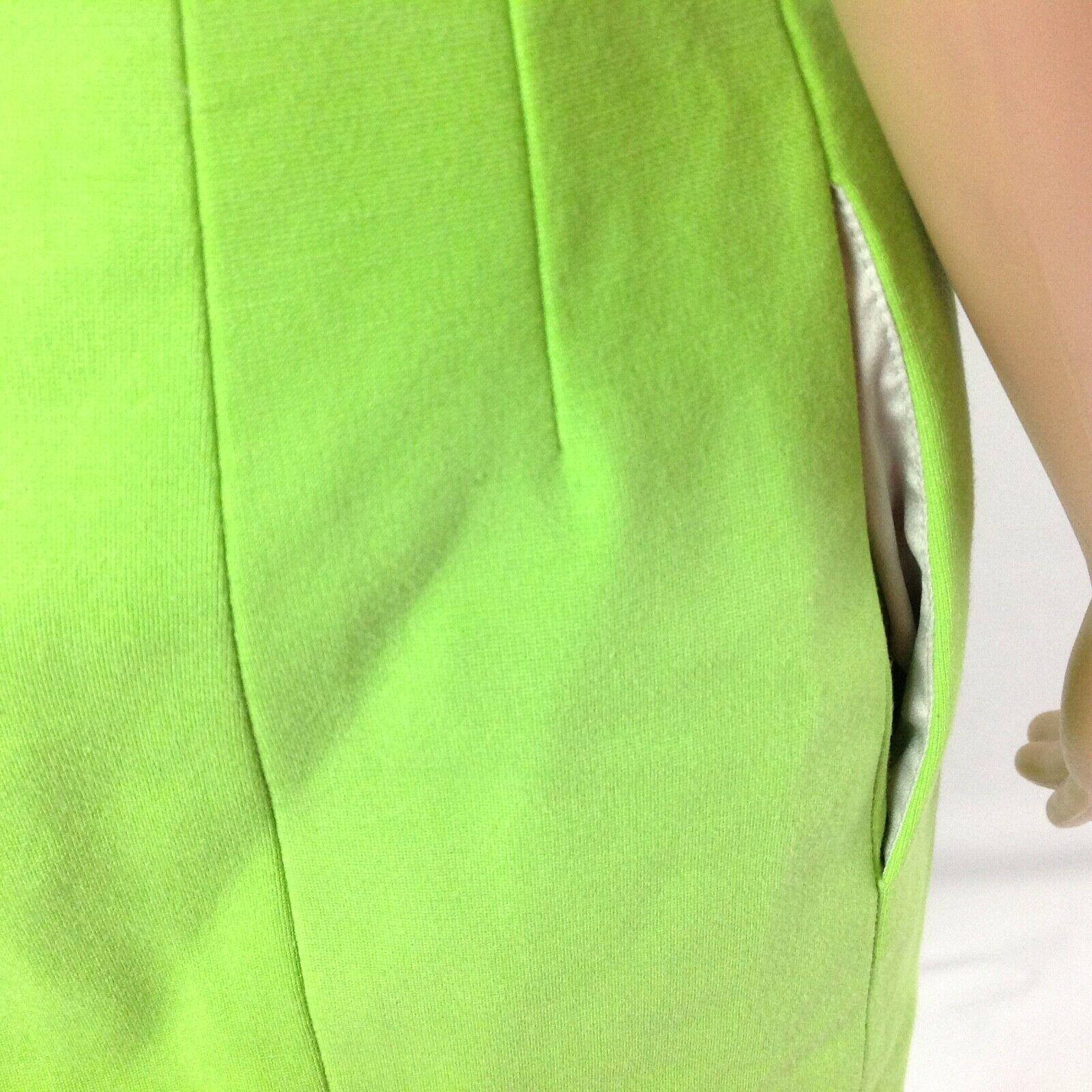 Diana von Furstenberg Agatha Knit Suiting Lime Gr… - image 6