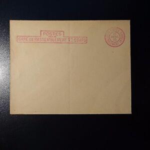 AgréAble Lettre Cover Postes Gare De Rassemblement 12éme Corps Bleu 1915 Dernier Style