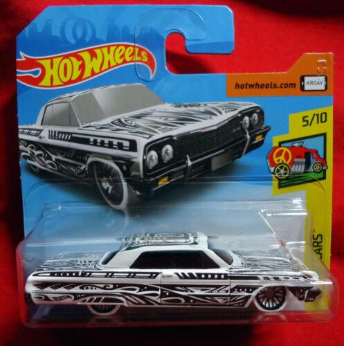 /'64 Impala 1964 Hot Wheels Art Cars Card