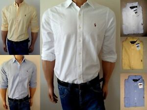MEN-POLO-RALPH-LAUREN-OXFORD-SHIRTS-CLASSIC-FIT-ALL-SIZES