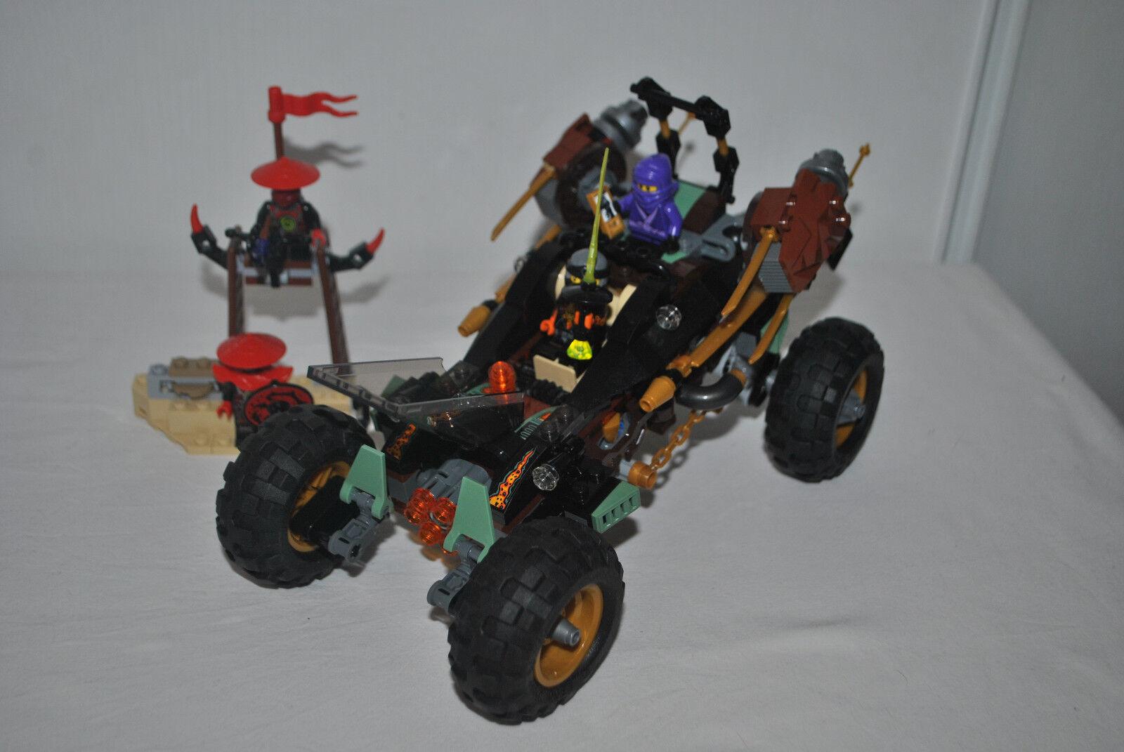 LEGO NINJAGO NINJAGO NINJAGO 70589 LE TOUT-TERRAIN DE COMBAT - COMPLET AVEC NOTICES ET BOITE dbc4b9