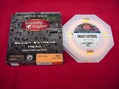 Scientific Anglers Skagit Extreme Integrated Tip 720gr Fly Line NEW!