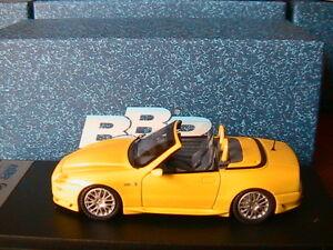 Maserati Gransport Spyder Street 2005 jaune Bbr181 Bbr modèle 1/43 fabriqué en Italie