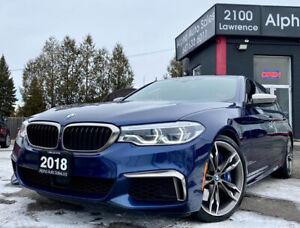2018 BMW Série 5 M550i xDrive