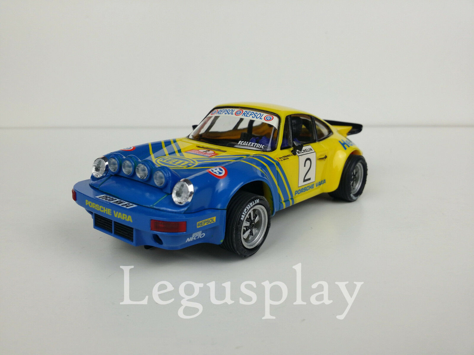 Slot SCX Scalextric Altaya Porsche Carrera RS N 2 XIV Rally de Orense