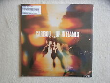 """LP + CD CARIBOU """"Up in flames"""" LEAF BAY 26VC UK Neuf & emballe §"""