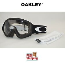 OAKLEY® L FRAME® OVER GLASSES GOGGLES MX ATV MOTOCROSS MOTORCYCLE DIRT BLACK NEW