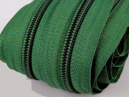 Reißverschluss 5m endlos 3mm 10 Zipper Reissverschluss Reißverschüsse