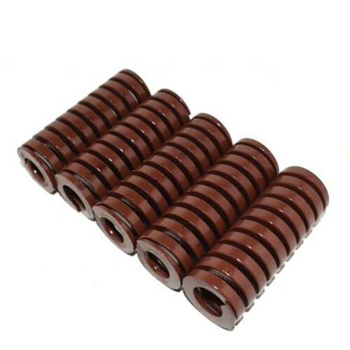 14mm OD Length 20-100mm Brown Extra Heavy Load Compression Mould Die Spring