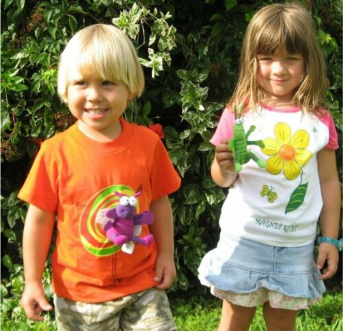 Kids Magnet T-shirt with Magnetic Fly Toy  Boys Girls Size 3 5 years old NEW 4