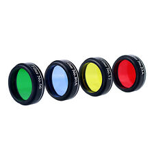 Hot 1.25'' 31.7mm Set of 4 Color Telescope Eyepiece Filter Set for Telescope ES