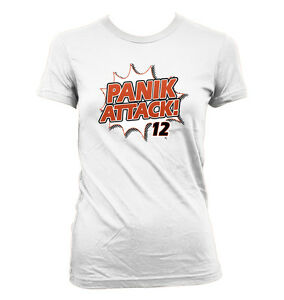 179095e5 Details about Panik Attack Women's T-Shirt - San Francisco Giants Joe Panik  Krukow Kuiper