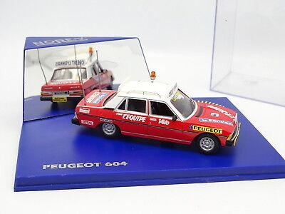 NOREV Peugeot 604 DU DIRECTEUR DE COURSE Tour De France 1986 NEUF EN BOITE