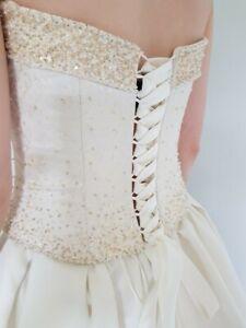 Maggie-Sottero-Wedding-Corset-amp-Skirt-Size-12