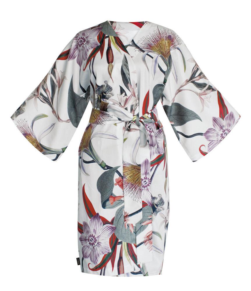 Analytique Apel | Chiara | Kimono | 120 X 105 Cm | Blanc Rose Vert Performance Fiable
