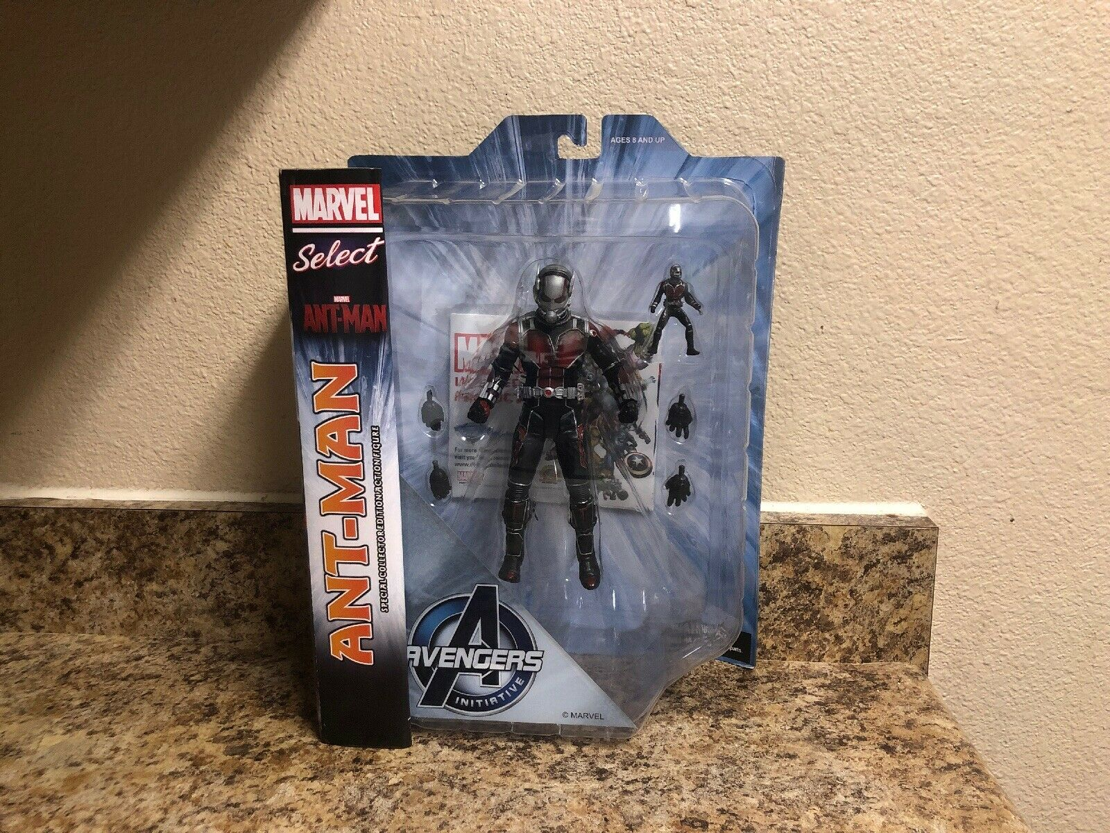 2015 DIAMOND MARVEL SELECT ANT-MAN COLLECTOR EDITION ACTION FIGURE AVENGERS AVENGERS AVENGERS 41b903