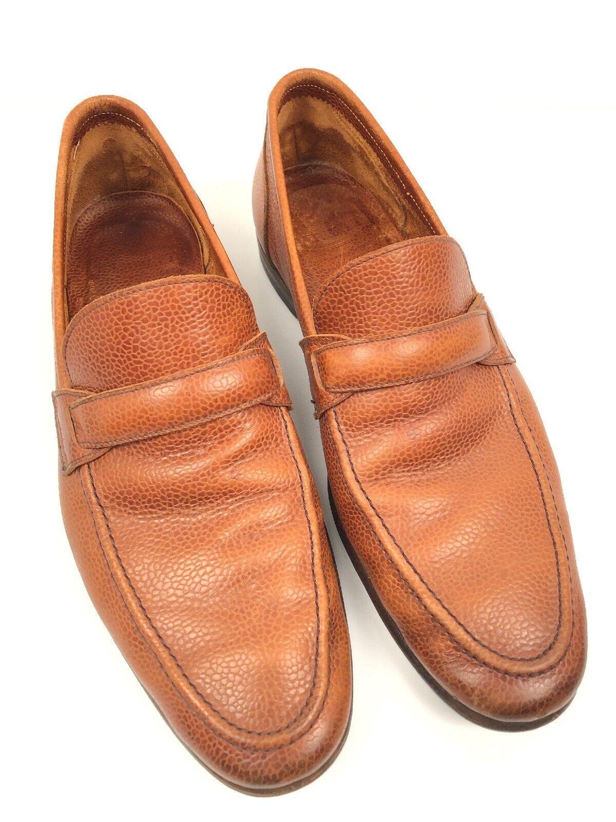 Mens Barrett Artigiana  Pebble Leather Loafers 9.5