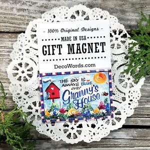 Granny-Gift-Fridge-MAGNET-All-Family-Grandparent-names-USA-New-DecoWords