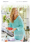 Patons Ladies Long Lacey Tunic Jumper Summer Cotton Knitting Pattern 4065