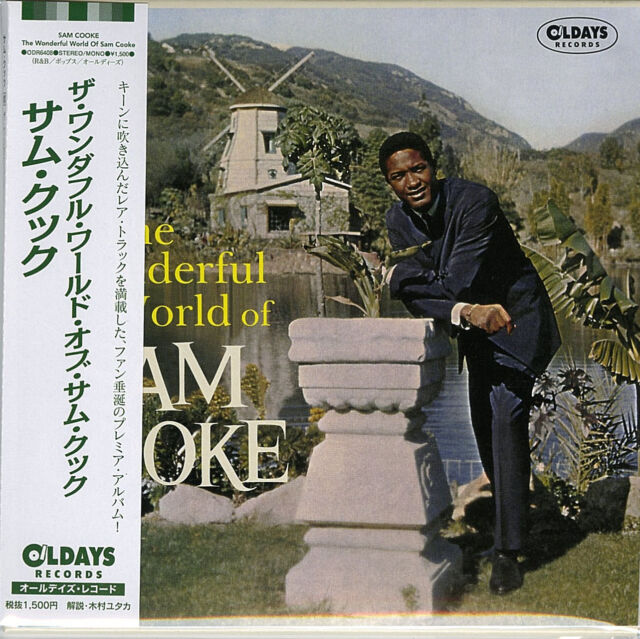 SAM COOKE-THE WONDERFUL WORLD OF SAM COOKE-JAPAN MINI LP CD BONUS TRACK C94