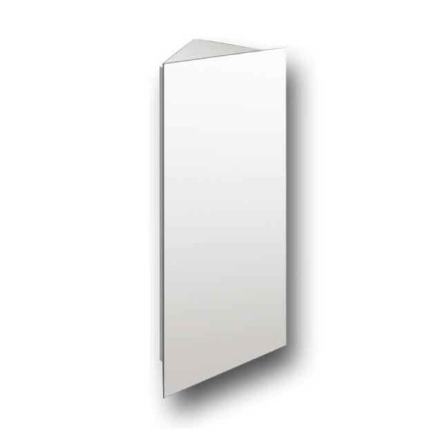 Tall Corner Hinge Cabinet Mirror Bathroom Wall Mounted Stainless Steel
