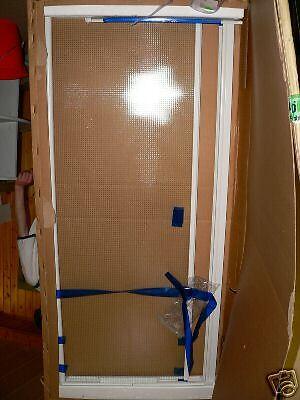 HSK Duschtür Nische   401500 810 x 1995mm weiß echtglas