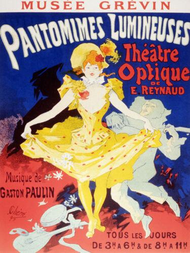 Fine Graphic Art pantomimes Lumineuses Decor Poster Wall Interior Design 2327