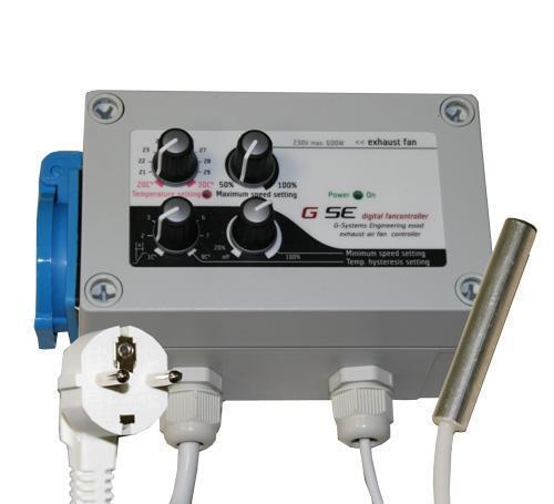 Hysteresis Hysterese Klima-Regler von GSE zum regeln der Temperatur mit Min//Max