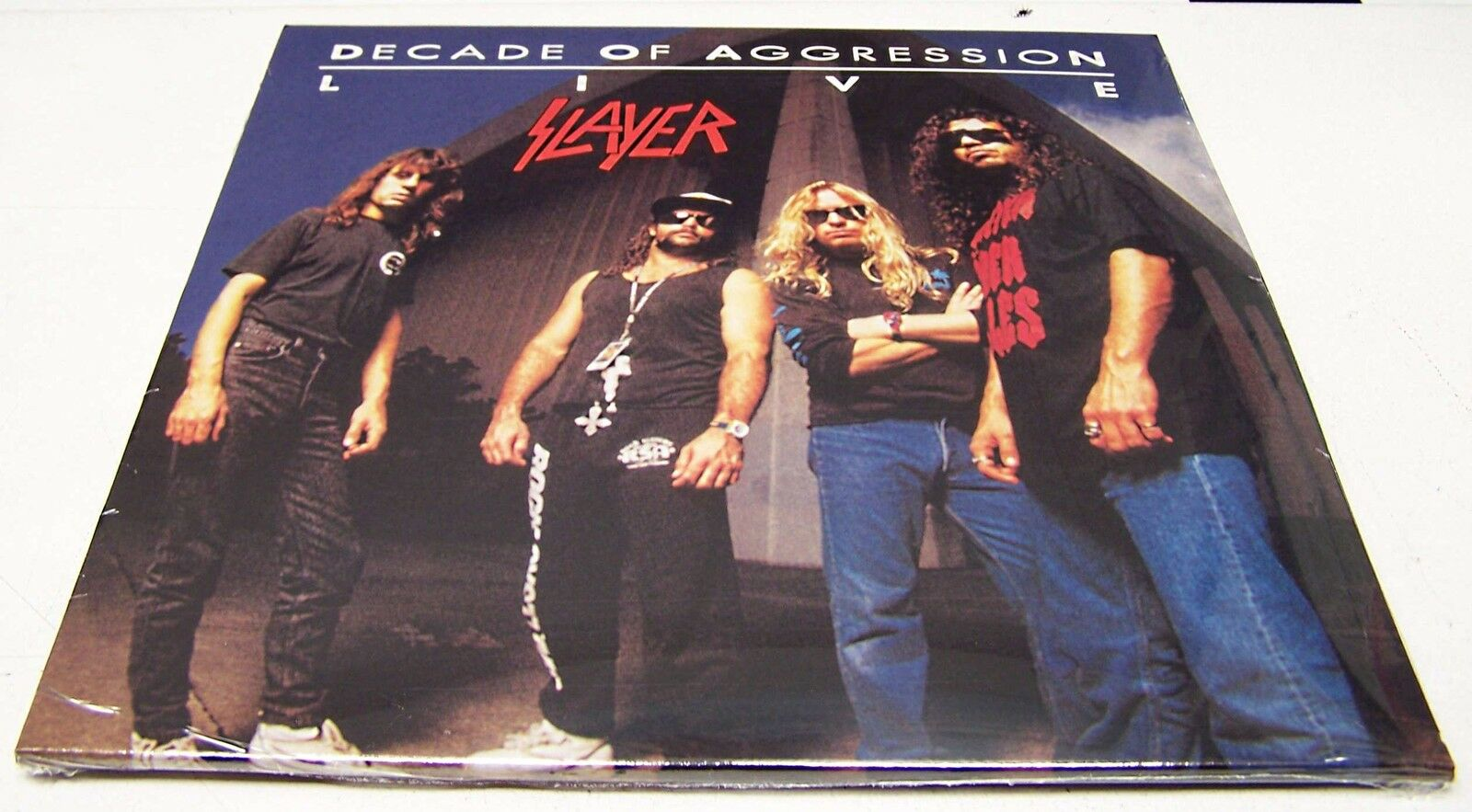 SLAYER - DECADE of AGGRESSION LIVE - 2 LP VINYL 180 Grammi LTD ED SIGILLATO MINT