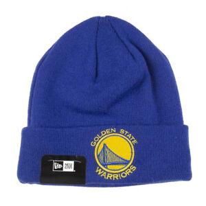 4b28700a1 Details about NEW ERA Golden State Warriors NBA Team Essential Cuff Knit  [royal blue]