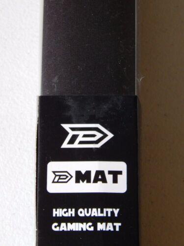 CCG Play Mat Dek Prot Black 24 x 14 Magic MTG Pokemon Card fight