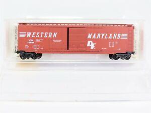 N-Scale-MTL-Micro-Trains-33070-WM-Western-Maryland-50-039-Standard-Box-Car-35006