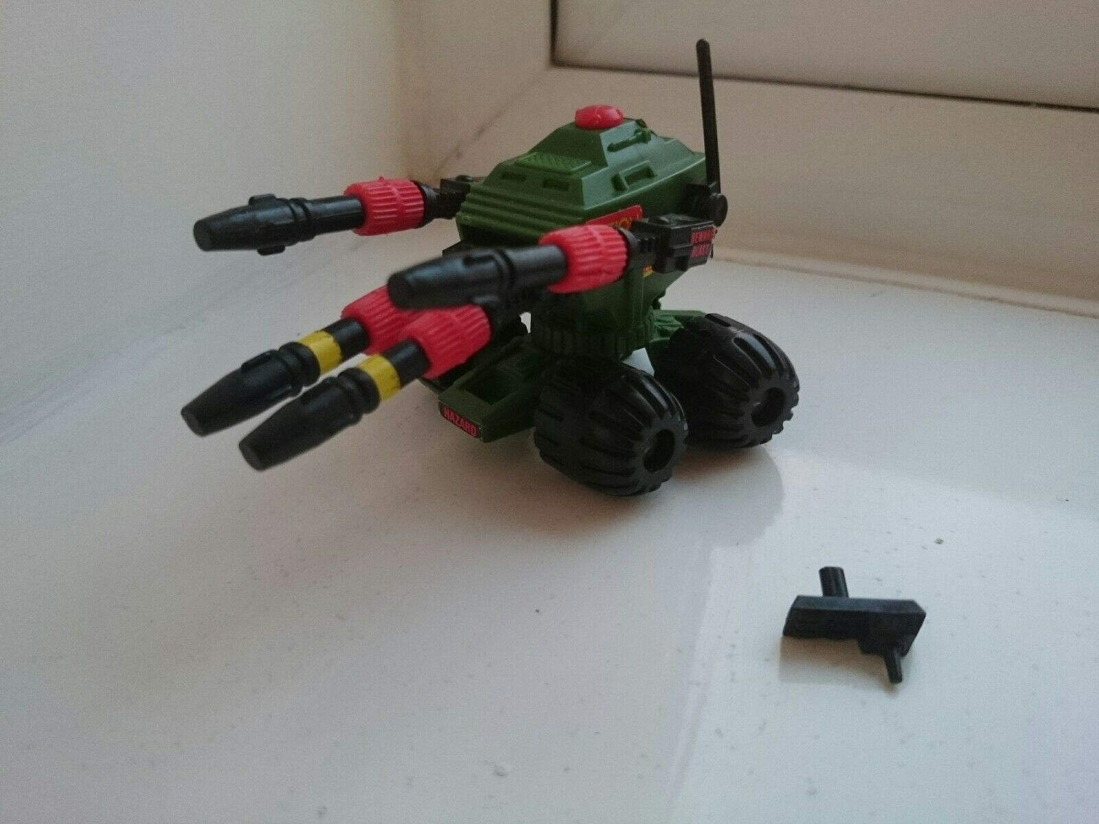 Action Man Action Force G I JOE Lance with remote. Palitoy. Used