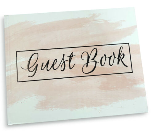New Blank Guest Book Pink Blush Weddings Polaroid Album Guestbook Baby Showers