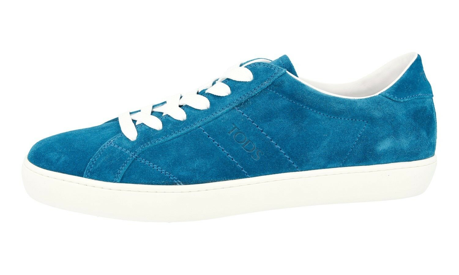 AUTHENTIC 9 TODS SNEAKERS SHOES ALLACIATO TURQUOISE NEW   9 AUTHENTIC EU 42 42,5 c78c26