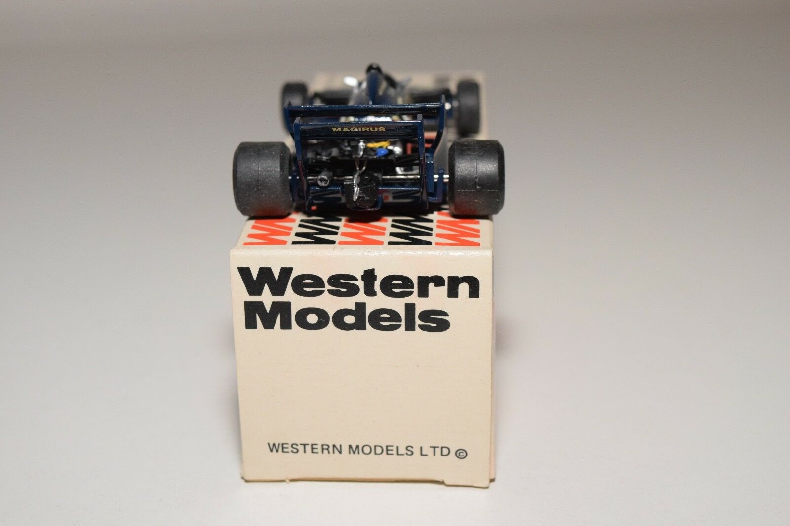 I WESTERN MODELS WM WM WM WRK39 TOLEMAN TG 183 CANDY RACING CAR DARK blueE MINT BOXED 81e4d0